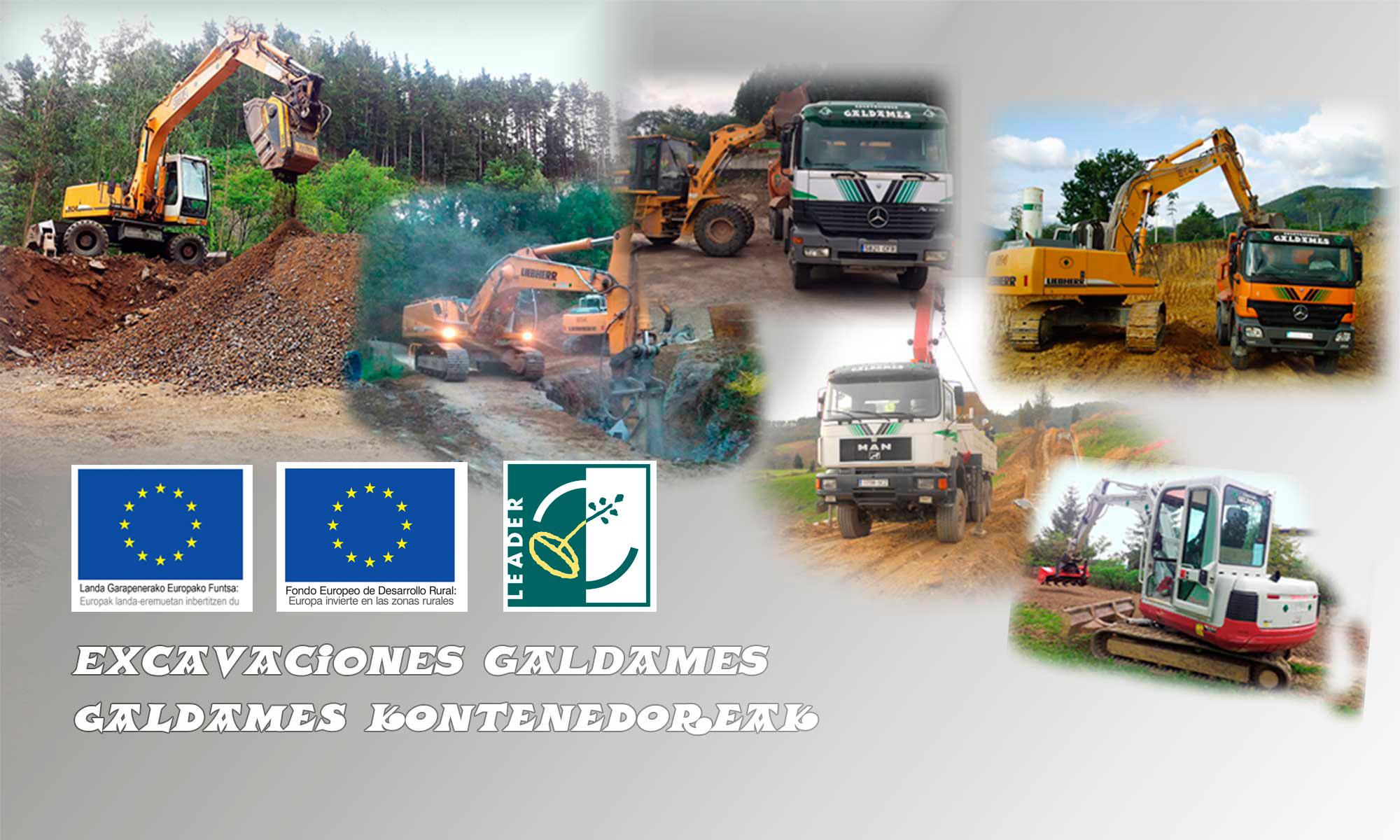 EXCAVACIONES GALDAMES / GALDAMES KONTENEDOREAK